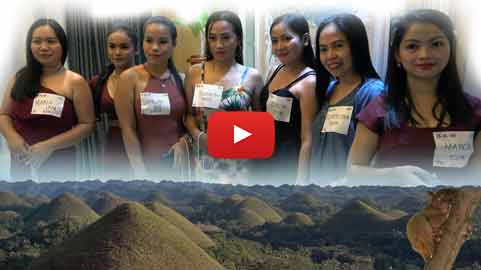 Filipino Women Escort Men to Bohol | Philippines Travel